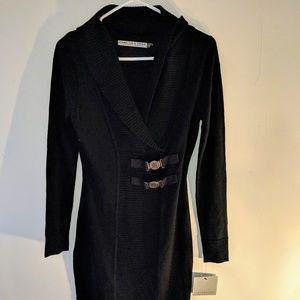 Marc new york Andrew Marc black sweater dress XS